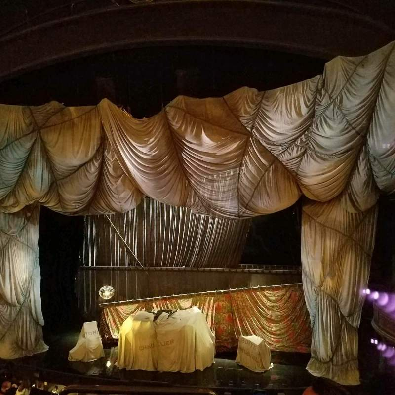 Seating view for Majestic Theatre Section Front Mezzanine R Row C Seat 2