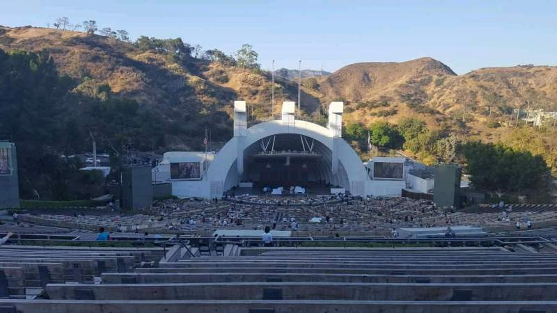 Seating view for Hollywood Bowl Section N1 Row 16 Seat 8