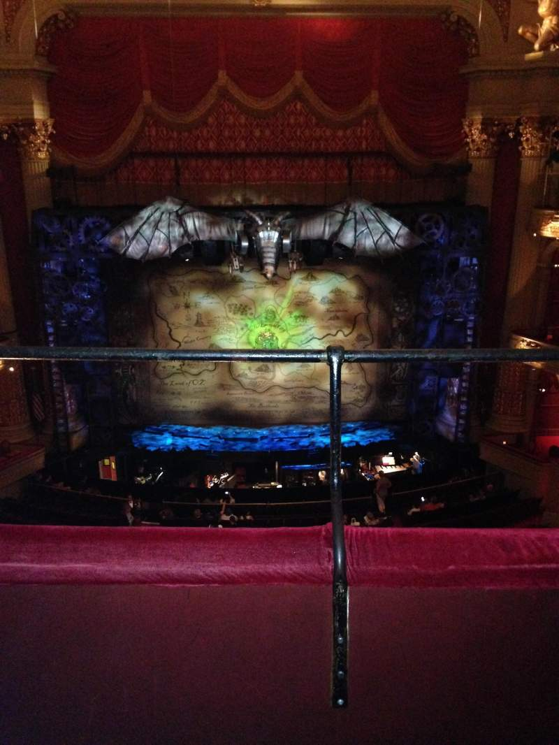 Seating view for Academy of Music Section Family Circle E Row B Seat 108