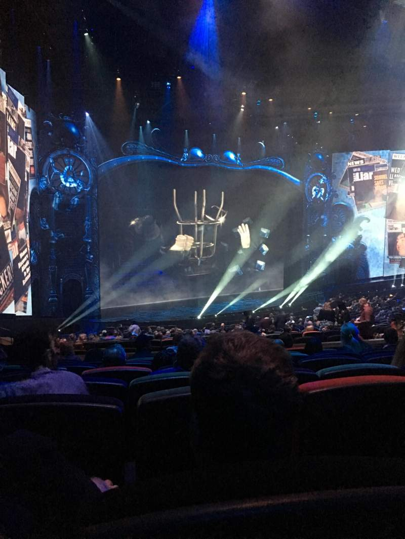 Seating view for Michael Jackson One Theatre Section 201 Row Jj Seat 5