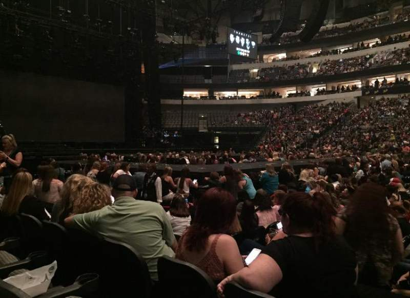 American Airlines Center, section: 119, row: C, seat: 5