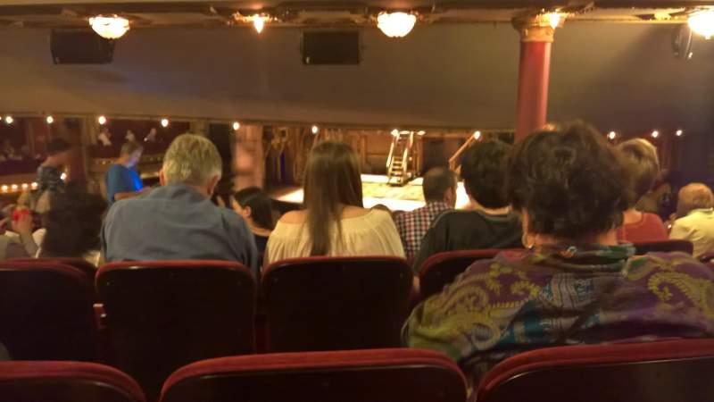 CIBC Theatre, section: dress circle rc, row: H, seat: 230