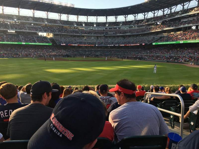 Seating view for SunTrust Park Section 149 Row 11 Seat 2