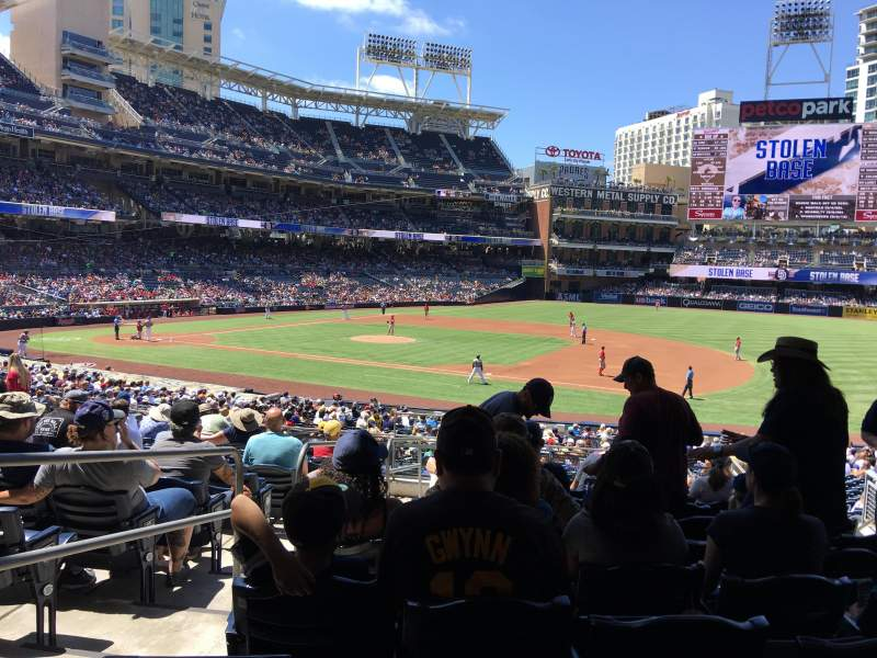 PETCO Park, section: 113, row: 37, seat: 3