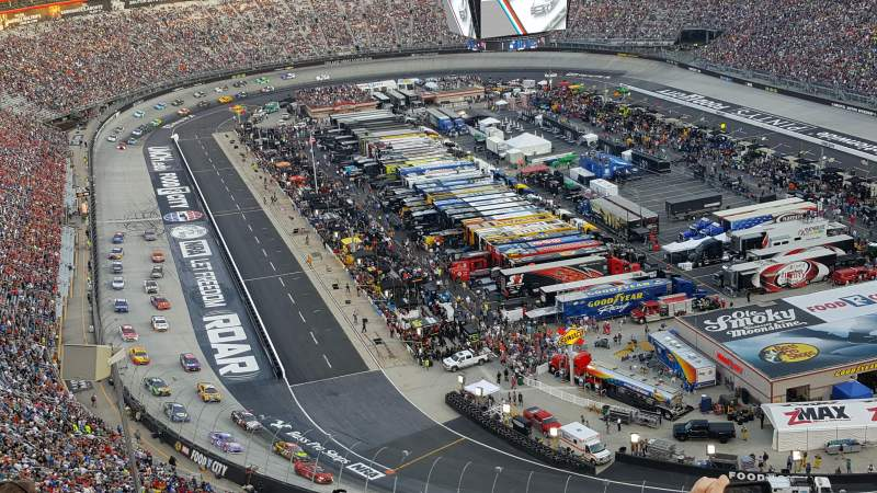 Bristol Motor Speedway, section: WO Wallace Tower, row: 9, seat: 15