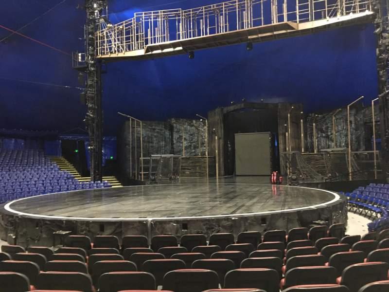 Seating view for Cirque Du Soleil - Volta Section 102 Row E