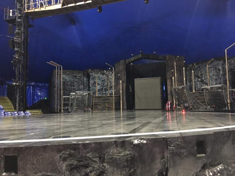 Seating view for Cirque Du Soleil - Volta Section 102 Row AA