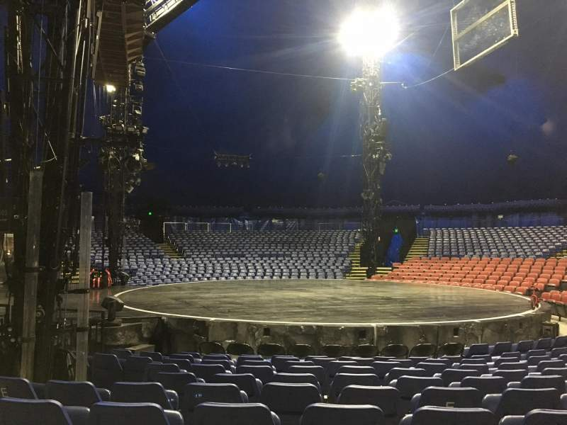 Seating view for Cirque Du Soleil - Volta Section 205 Row H