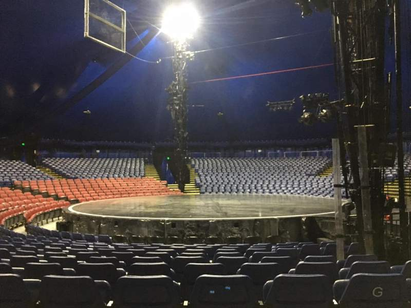 Seating view for Cirque Du Soleil - Volta Section 206 Row H