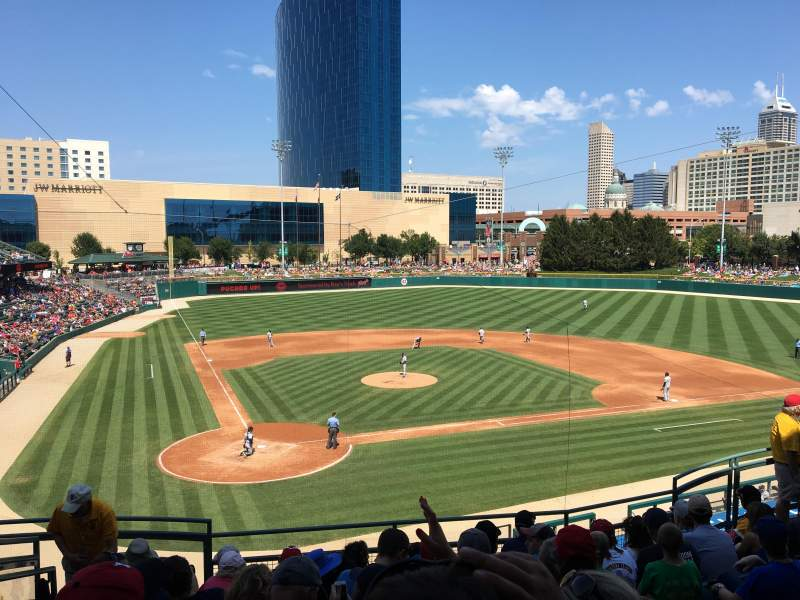 Victory Field, section: 112, row: H, seat: 5