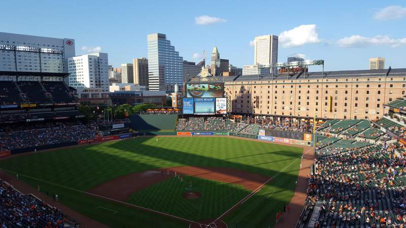 Oriole Park at Camden Yards, section: 340, row: 16, seat: 13