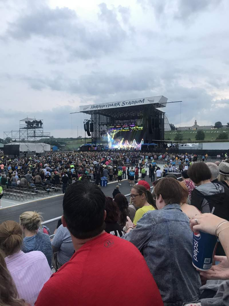Seating view for Hershey Park Stadium Section 28 Row DD Seat 23