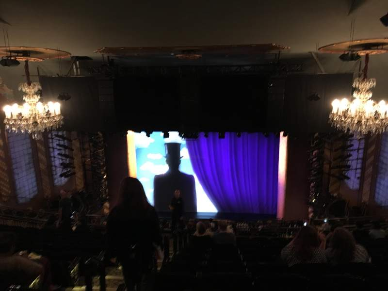 Seating view for Lunt-Fontanne Theatre Section Rear Mezzanine RC Row M Seat 104