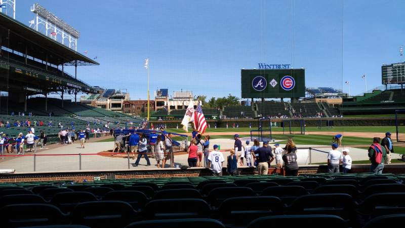 Seating view for Wrigley Field Section 21 Row 14 Seat 6