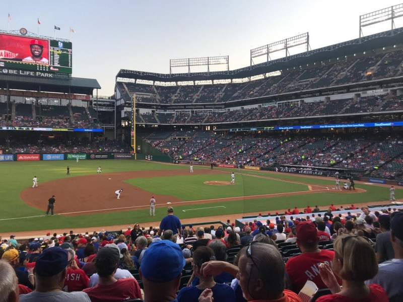 Globe Life Park in Arlington, section: 17, row: 26, seat: 9