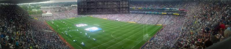 Seating view for Croke Park Section 724 Row X Seat 15