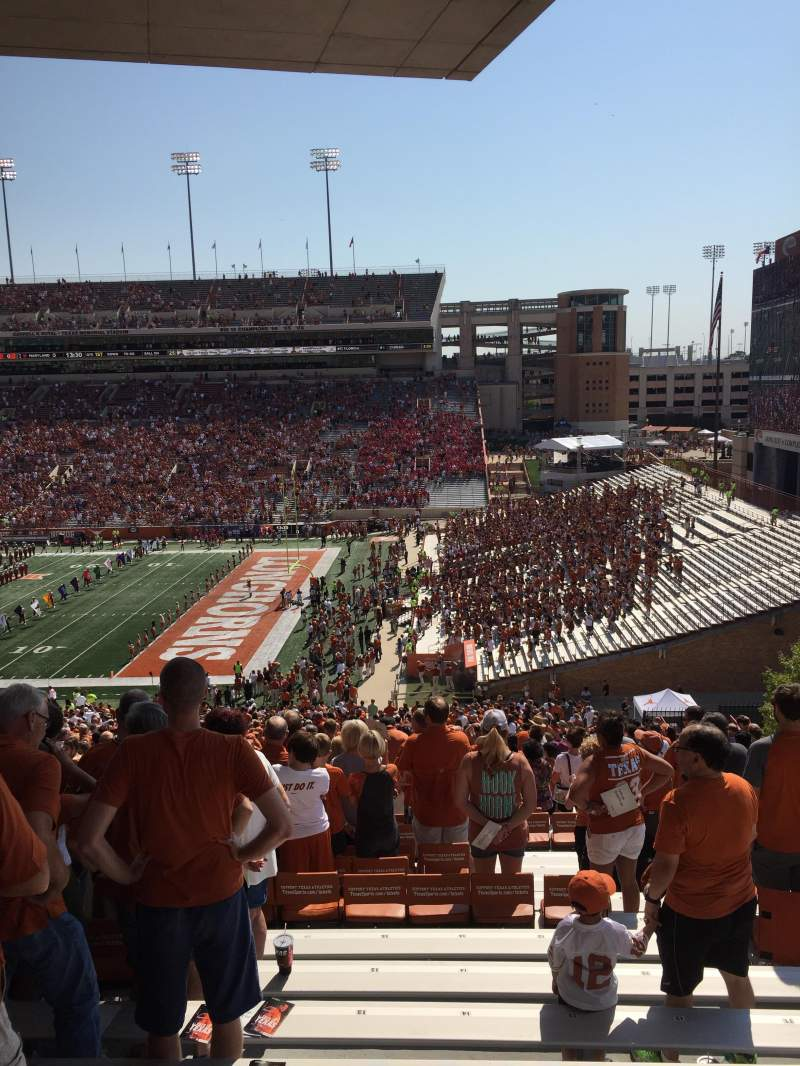 Seating view for Texas Memorial Stadium Section 1 Row 68 Seat 13