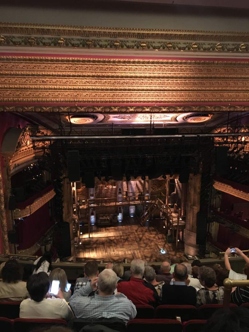 Seating view for CIBC Theatre Section Balcony LC Row J Seat 413
