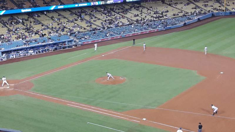 Seating view for Dodger Stadium Section 28RS Row G Seat 8