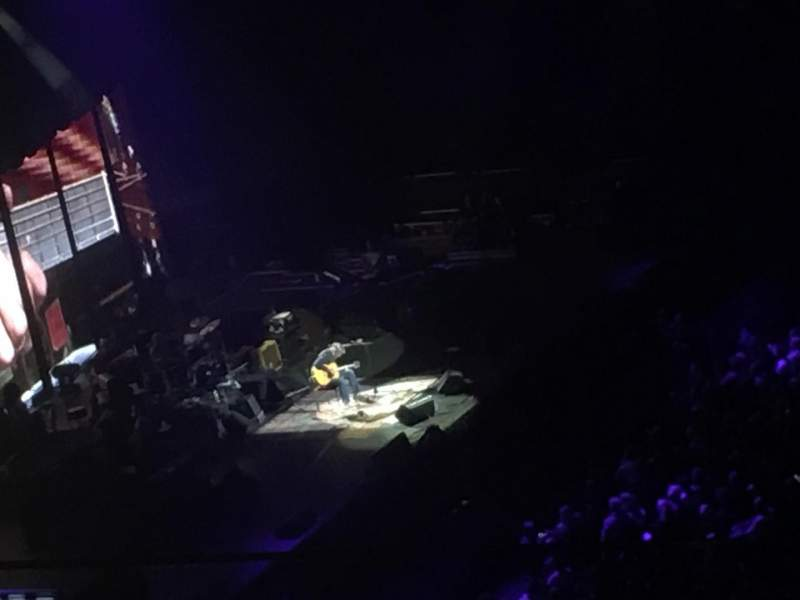 Madison Square Garden, section: 225, row: 14