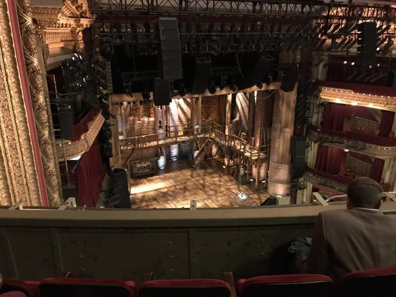 CIBC Theatre, section: Balcony L, row: C, seat: 9