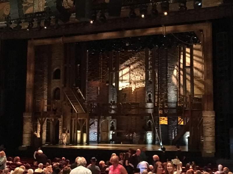 Hollywood Pantages Theatre, section: Orchestra RC, row: Z, seat: 212
