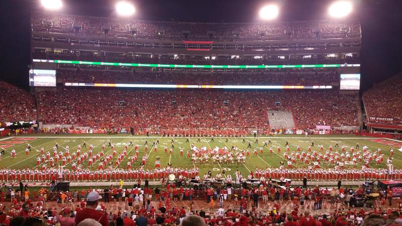 Memorial Stadium (Lincoln), section: 27, row: 36, seat: 6