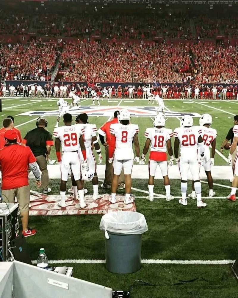 Arizona Stadium, section: 21, row: 1, seat: 12