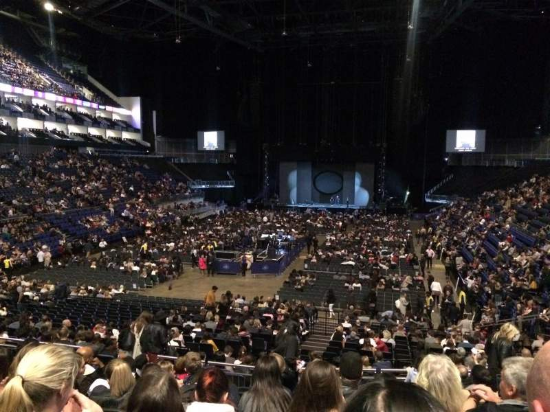 The O2 Arena Section 108 Row W