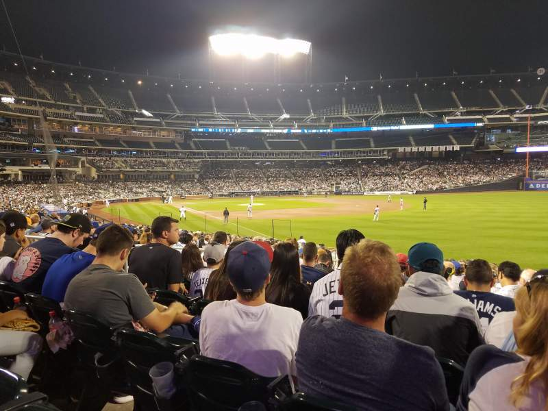 Seating view for Citi Field Section 106 Row 22 Seat 8