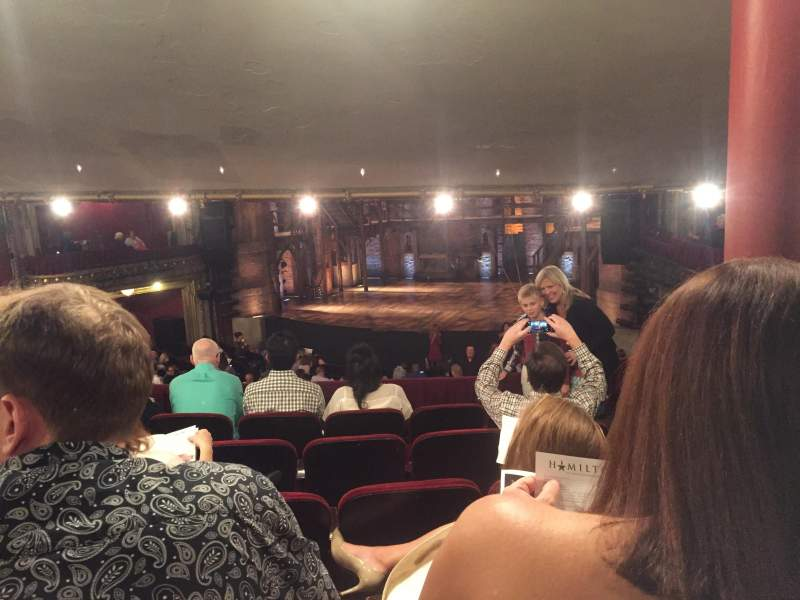 CIBC Theatre, section: Dress Circle RC, row: F, seat: 236
