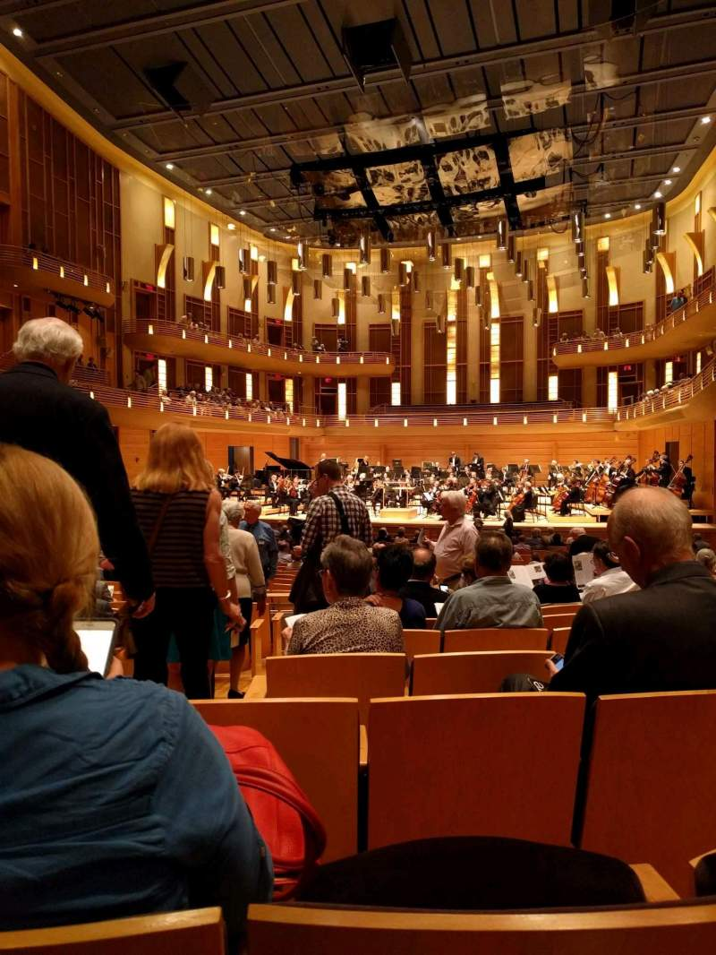 Seating view for The Music Center at Strathmore Section Orchestra Tier Right Row JJ Seat 4