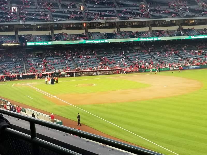 Angel Stadium, section: C346, row: B, seat: 14