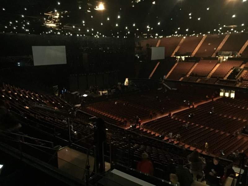 The Forum, section: 230, row: 7, seat: 13