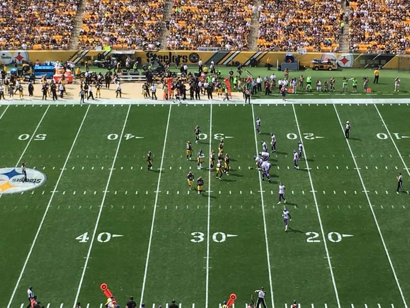 Heinz Field, section: 512, row: N, seat: 14