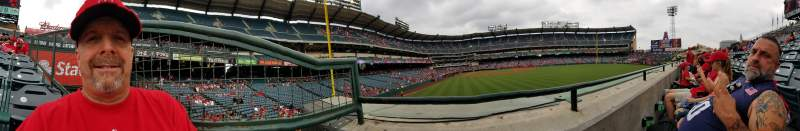 Seating view for Angel Stadium Section P236 Row A Seat 1