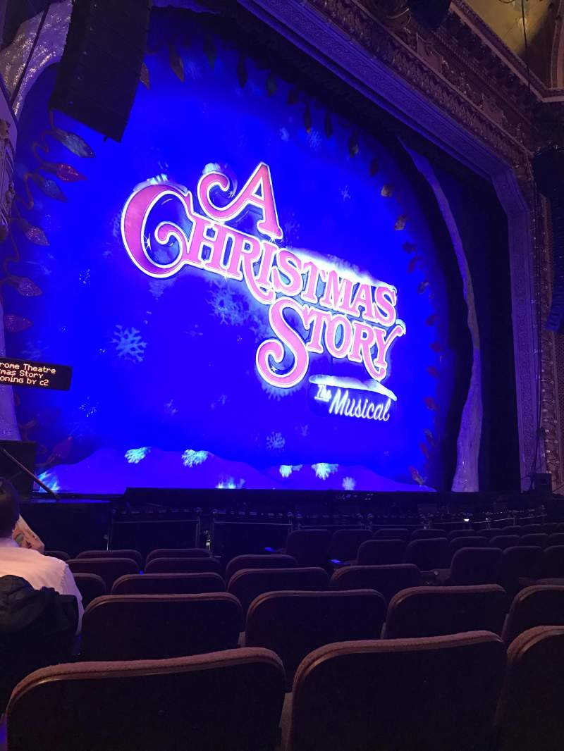 Seating view for Hippodrome Theatre Section Left Orchestra Row J Seat 15