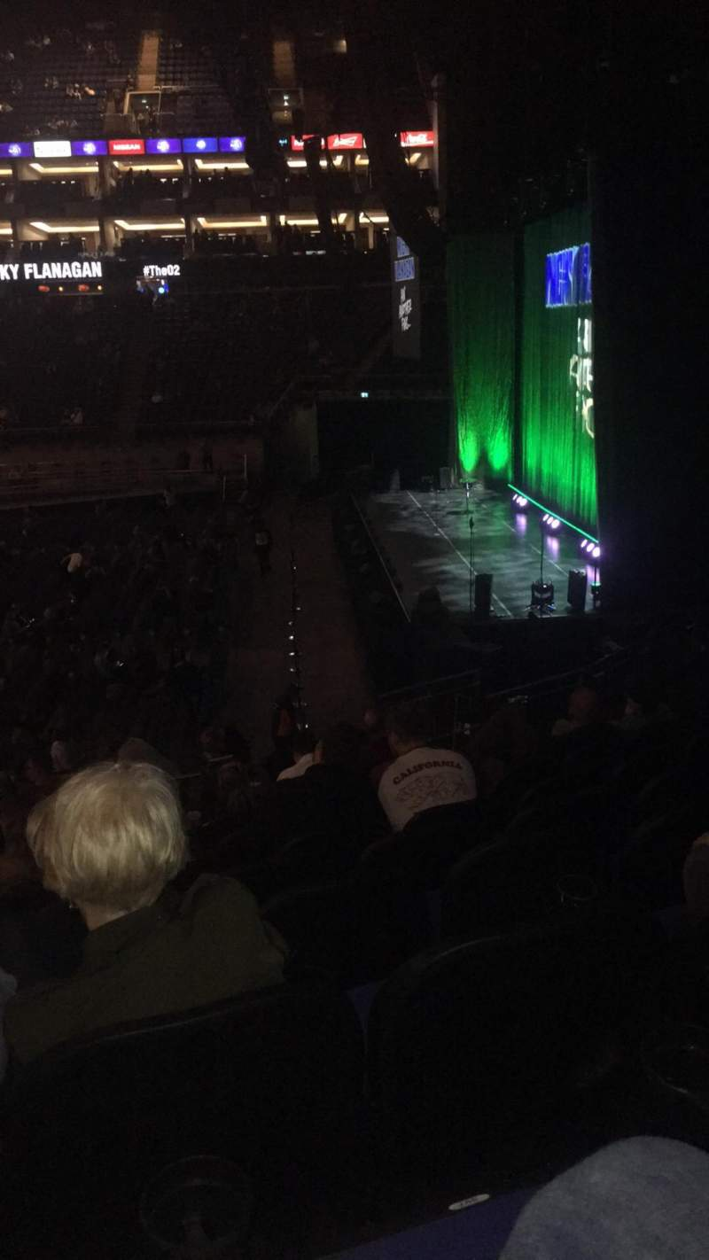 The O2 Arena, section: 113, row: T, seat: 396