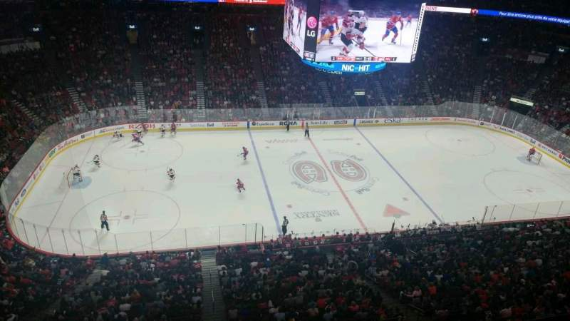 Seating view for Centre Bell Section 303 Row AA Seat 1