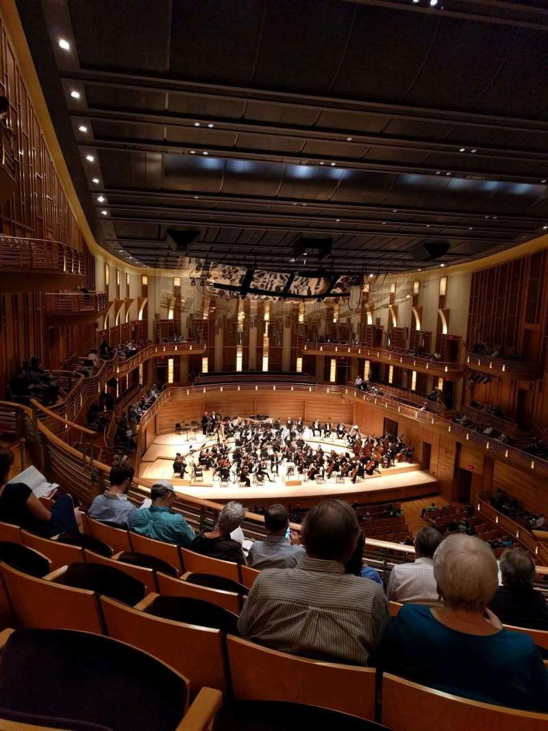 Seating view for The Music Center at Strathmore Section Grand Tier Row E Seat 3