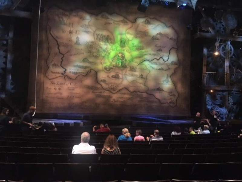 Seating view for Gershwin Theatre Section Orchestra Row H Seat 105