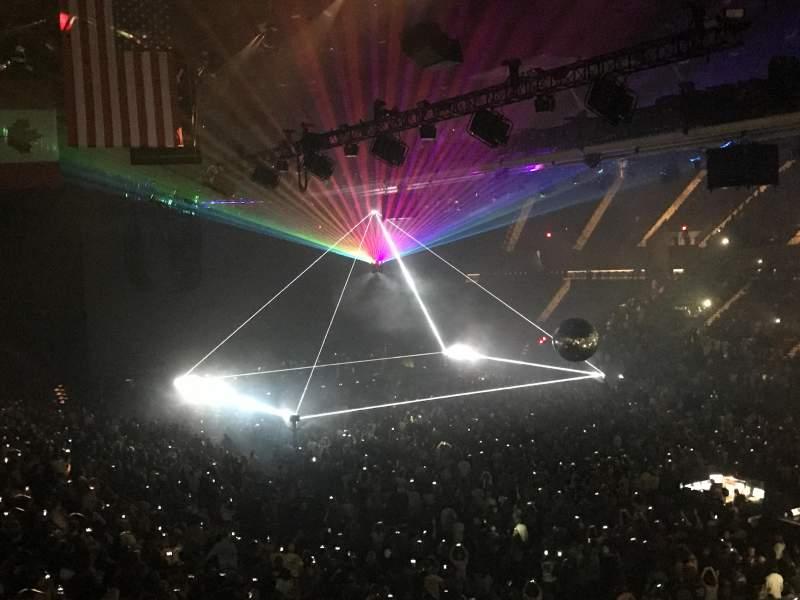 Nassau Veterans Memorial Coliseum, section: 219, row: 1, seat: 1 Asle