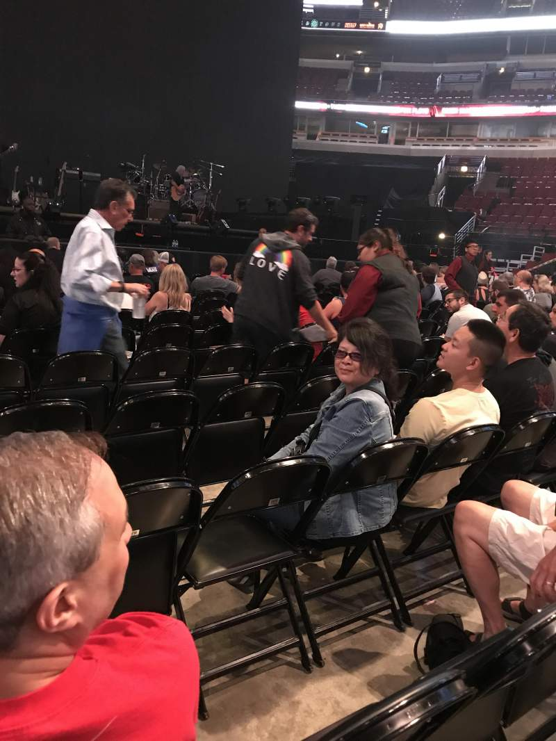 United Center, section: 2, row: 12, seat: 1
