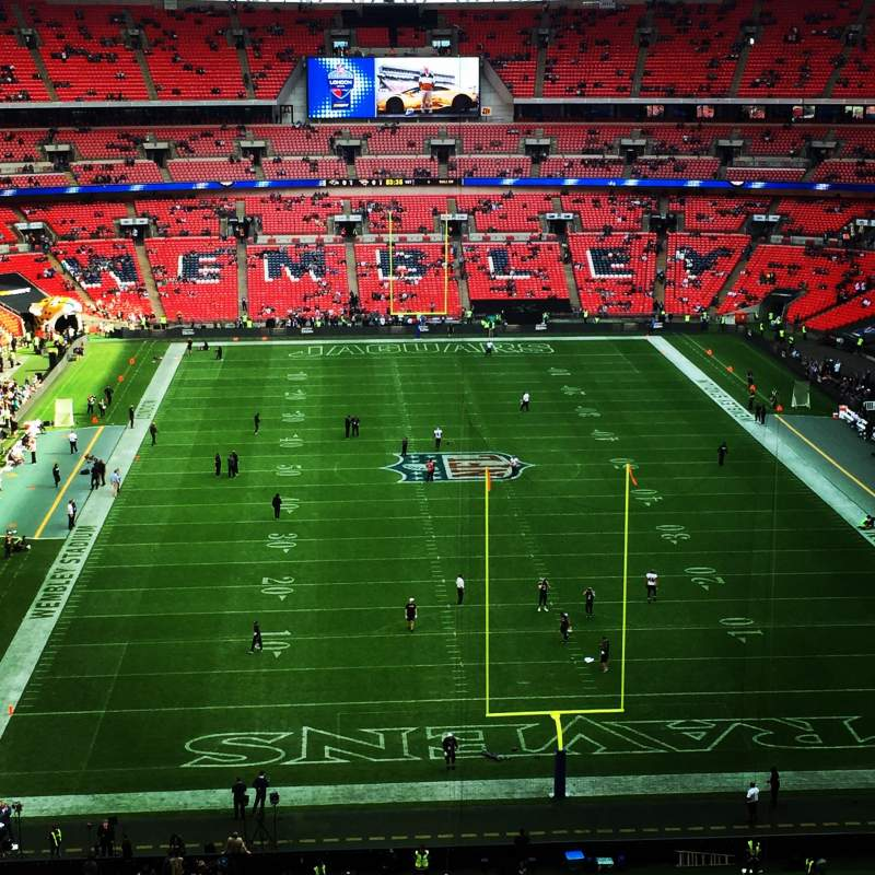 Wembley Stadium, section: 540, row: 13, seat: 29