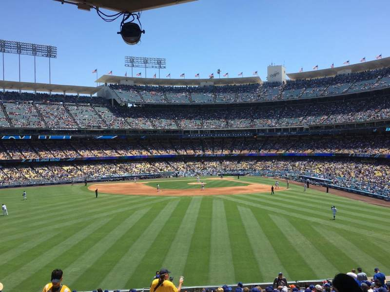Seating view for Dodger Stadium Section 305PL Row Z Seat 1
