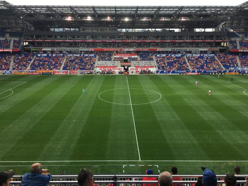 Red Bull Arena, section: 126, row: 18, seat: 20-23