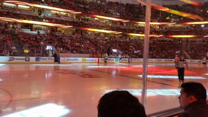 Seating view for Honda Center Section 224 Row B Seat 8