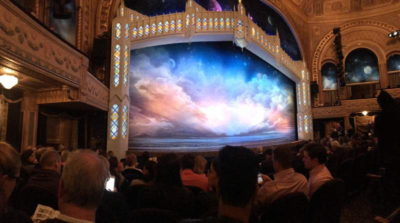 Seating view for Eugene O'Neill Theatre Section Orchestra L Row J Seat 9