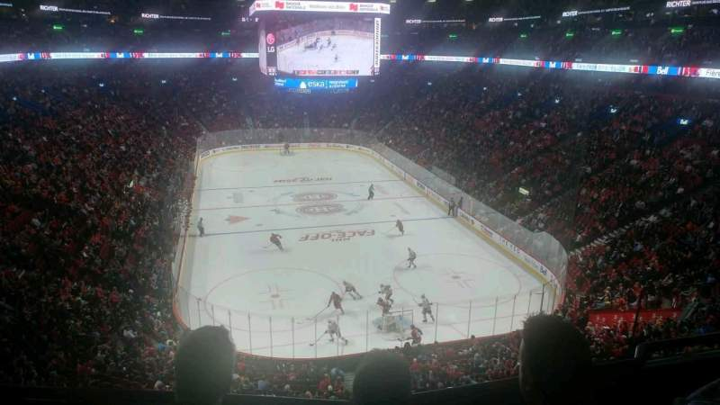 Seating view for Centre Bell Section 220 Row C Seat 1