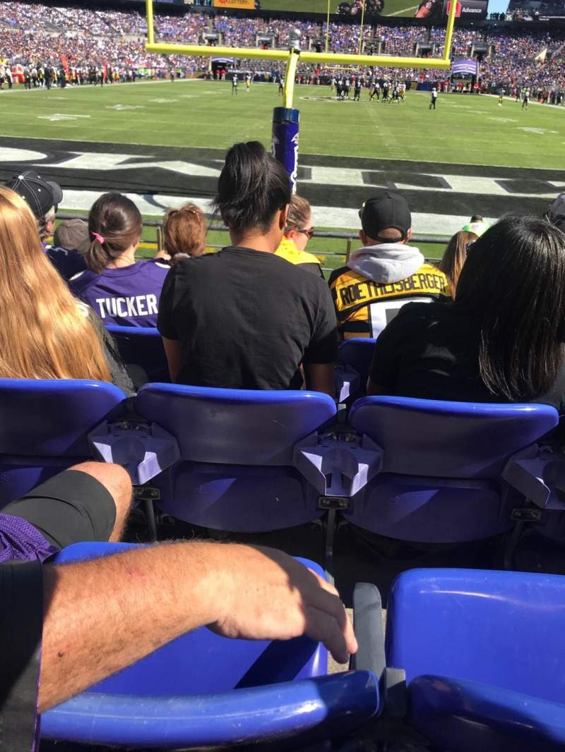 M&T Bank Stadium, section: 140, row: 5, seat: 7